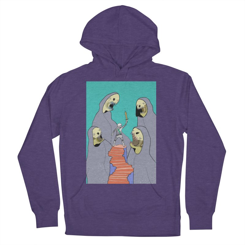 Future Space Women's French Terry Pullover Hoody by Steven Compton's Artist Shop