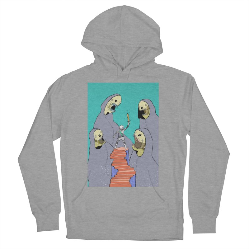 Future Space Women's Pullover Hoody by Steven Compton's Artist Shop