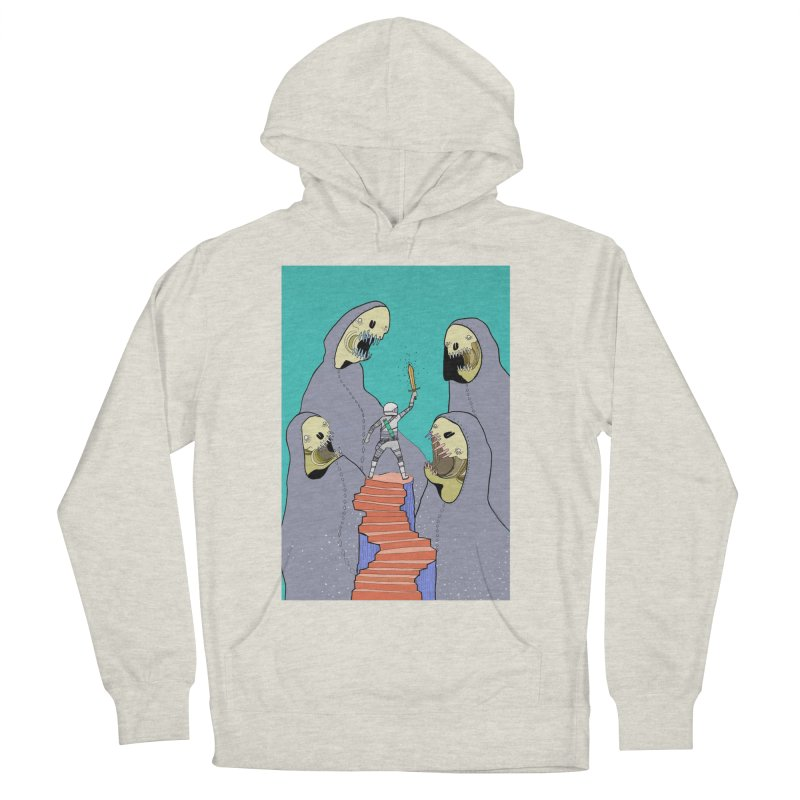 Future Space Men's Pullover Hoody by Steven Compton's Artist Shop