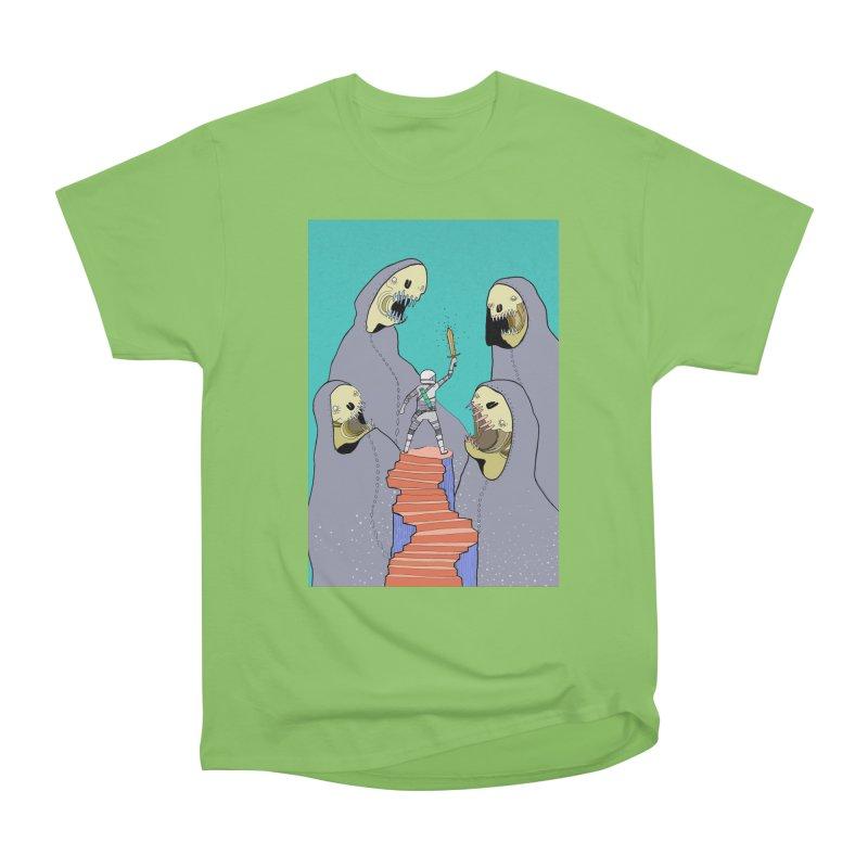 Future Space Men's Heavyweight T-Shirt by Steven Compton's Artist Shop