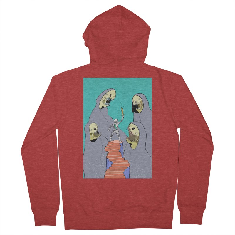 Future Space Women's Zip-Up Hoody by Steven Compton's Artist Shop