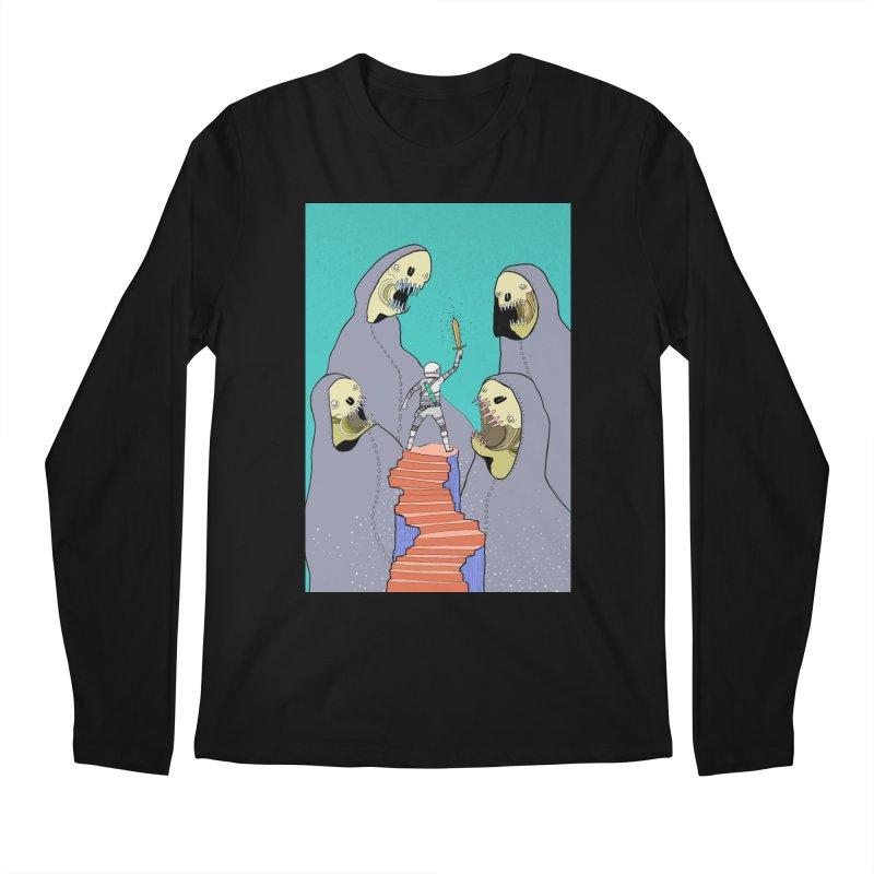 Future Space Men's Regular Longsleeve T-Shirt by Steven Compton's Artist Shop