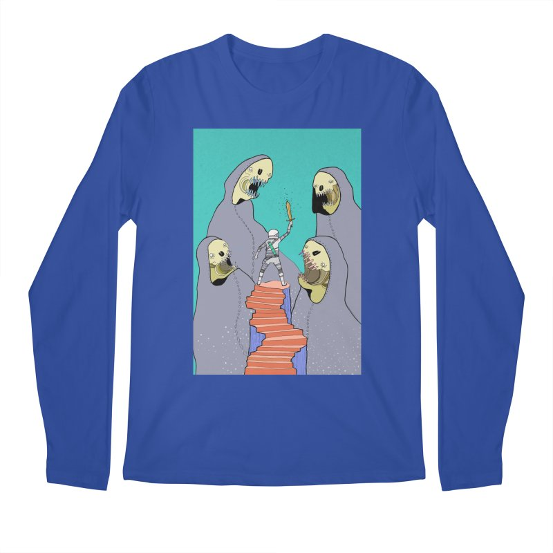 Future Space Men's Regular Longsleeve T-Shirt by Steven Compton's Artist Shop