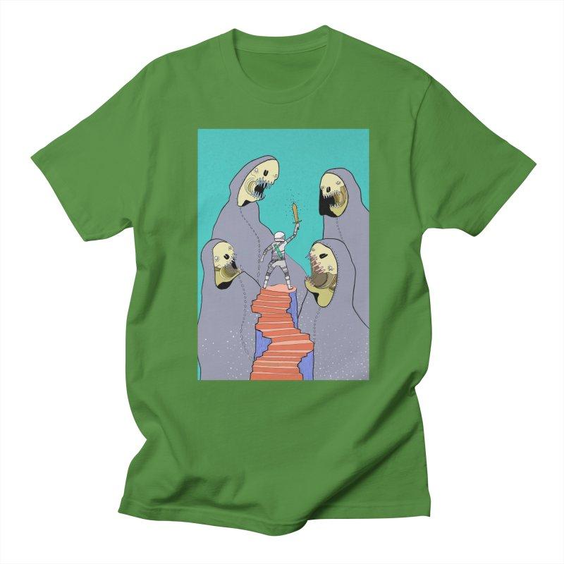 Future Space Men's Regular T-Shirt by Steven Compton's Artist Shop