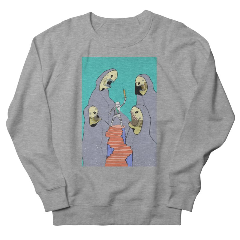 Future Space Women's French Terry Sweatshirt by Steven Compton's Artist Shop