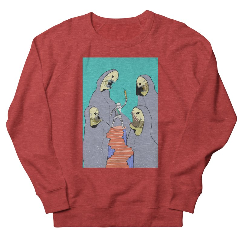 Future Space Men's French Terry Sweatshirt by Steven Compton's Artist Shop