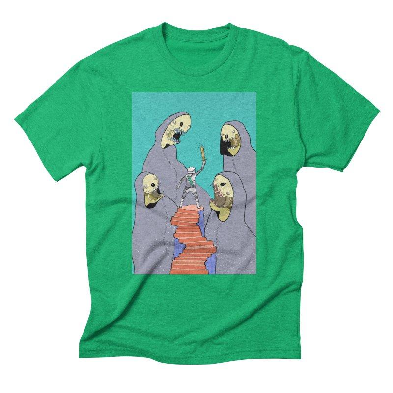 Future Space Men's Triblend T-shirt by Steven Compton's Artist Shop