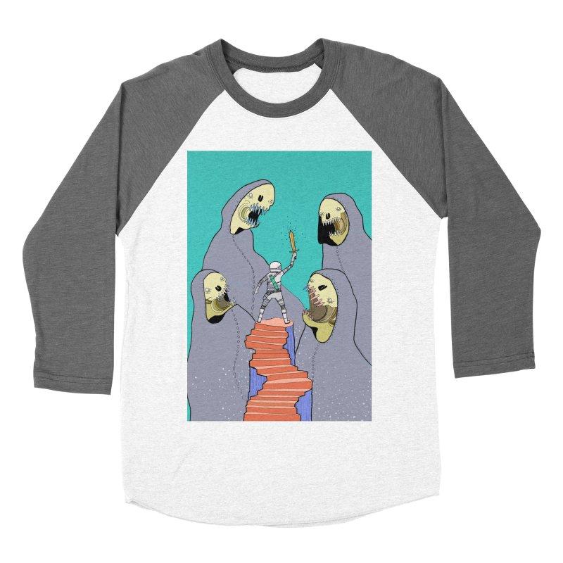 Future Space Women's Baseball Triblend Longsleeve T-Shirt by Steven Compton's Artist Shop