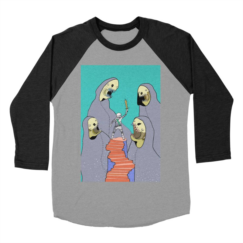 Future Space Women's Baseball Triblend T-Shirt by Steven Compton's Artist Shop
