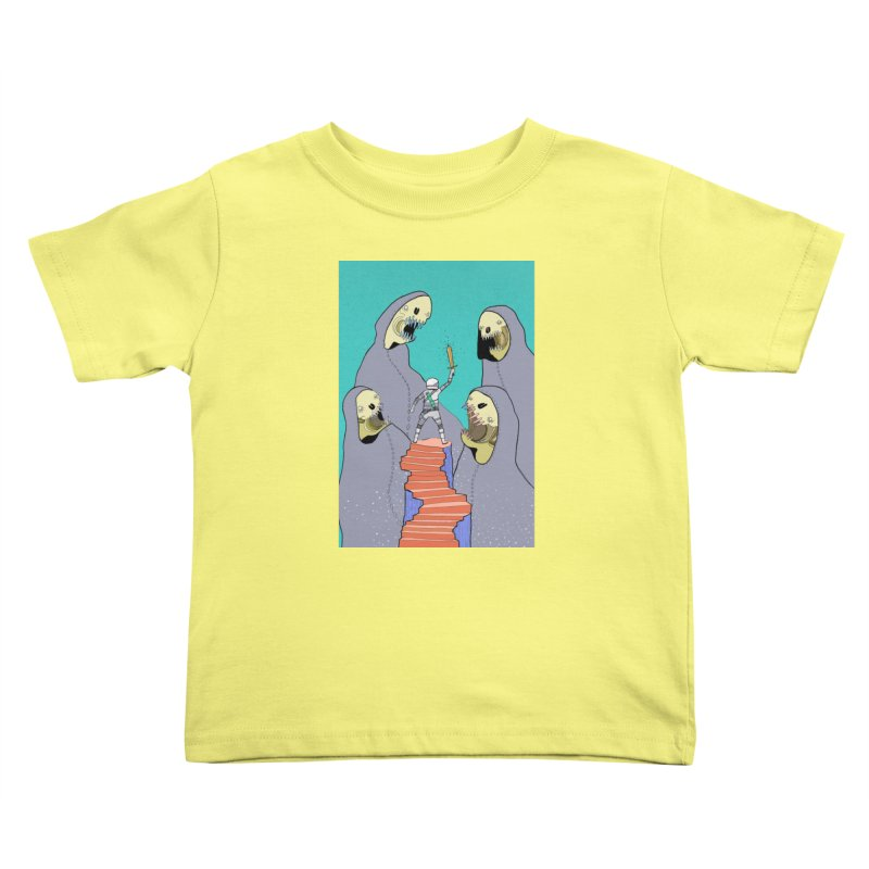 Future Space Kids Toddler T-Shirt by Steven Compton's Artist Shop