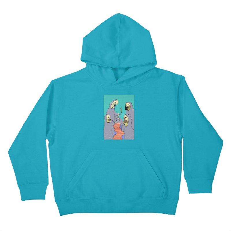 Future Space Kids Pullover Hoody by Steven Compton's Artist Shop