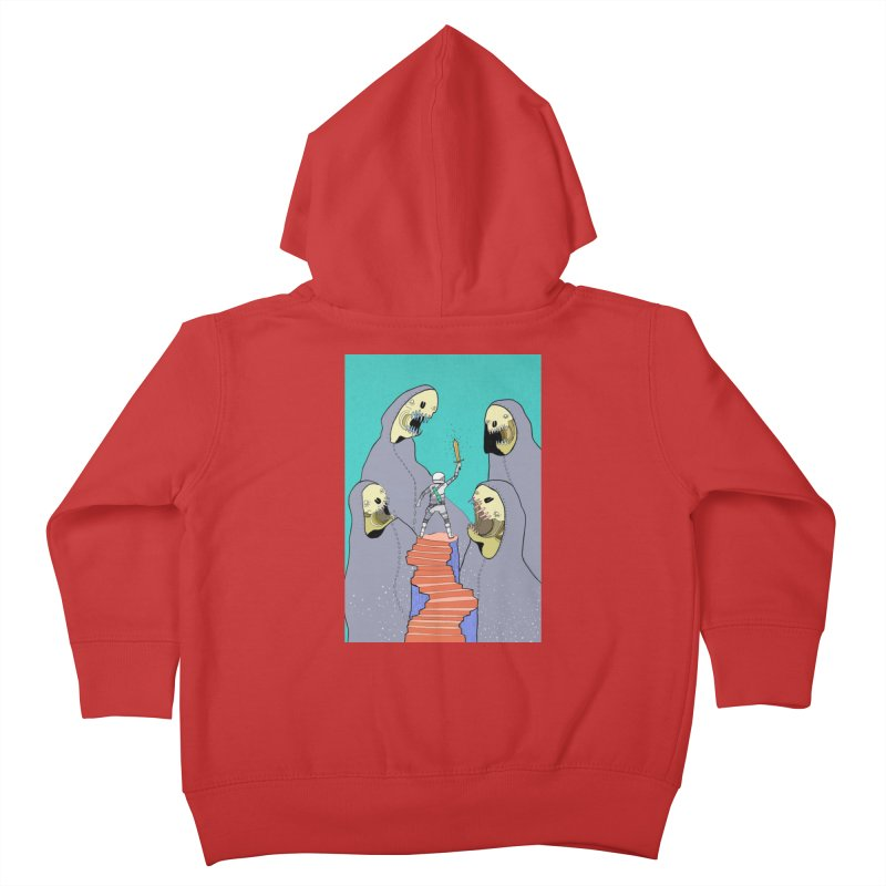 Future Space Kids Toddler Zip-Up Hoody by Steven Compton's Artist Shop