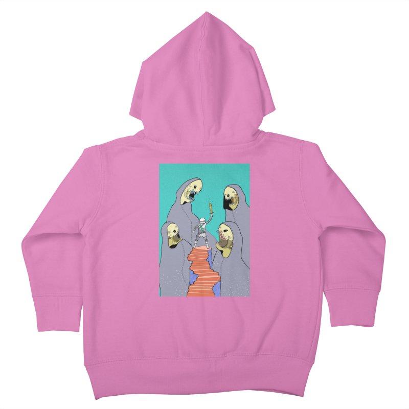 Future Space Kids Toddler Zip-Up Hoody by Steven Compton's Artist Shop
