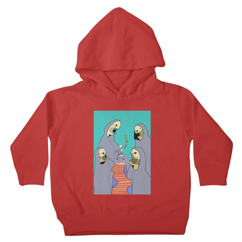 Future Space Kids Toddler Pullover Hoody by Steven Compton's Artist Shop