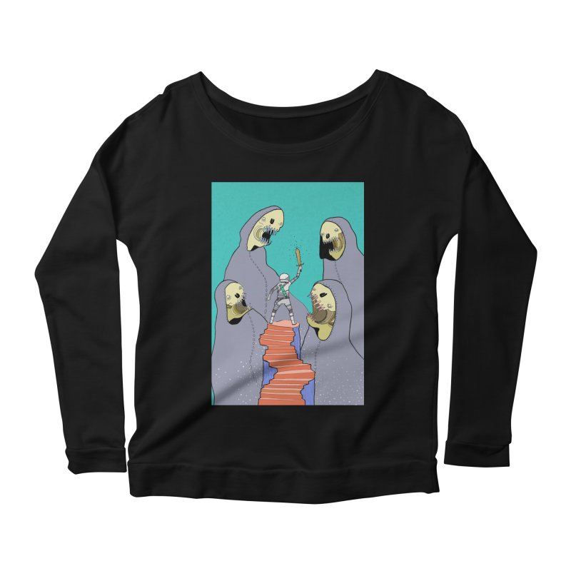 Future Space Women's Scoop Neck Longsleeve T-Shirt by Steven Compton's Artist Shop