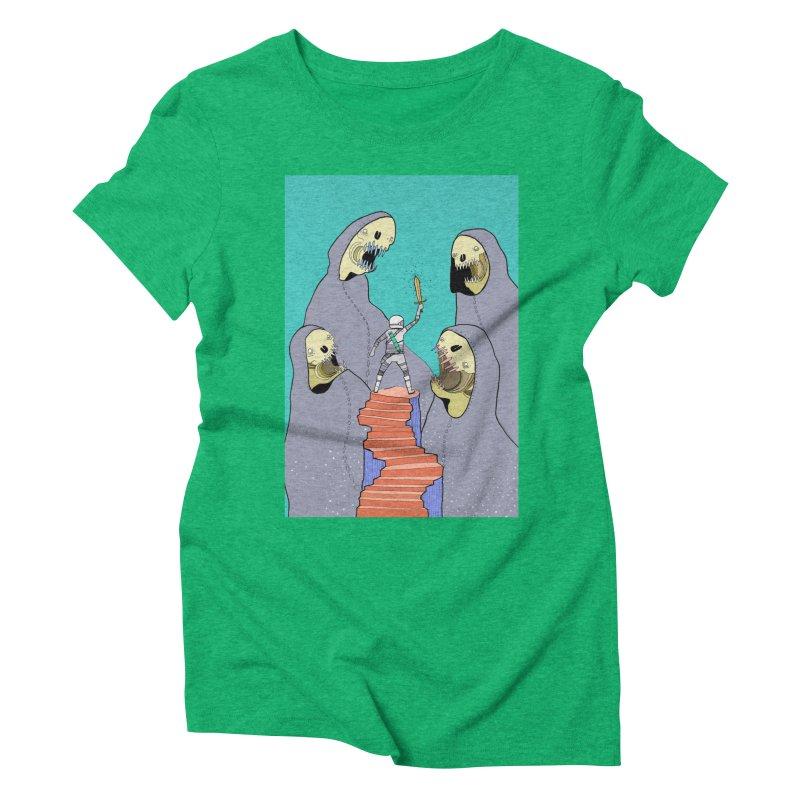 Future Space Women's Triblend T-Shirt by Steven Compton's Artist Shop