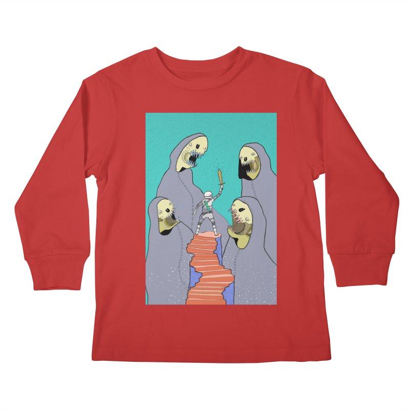 Future Space Kids Longsleeve T-Shirt by Steven Compton's Artist Shop