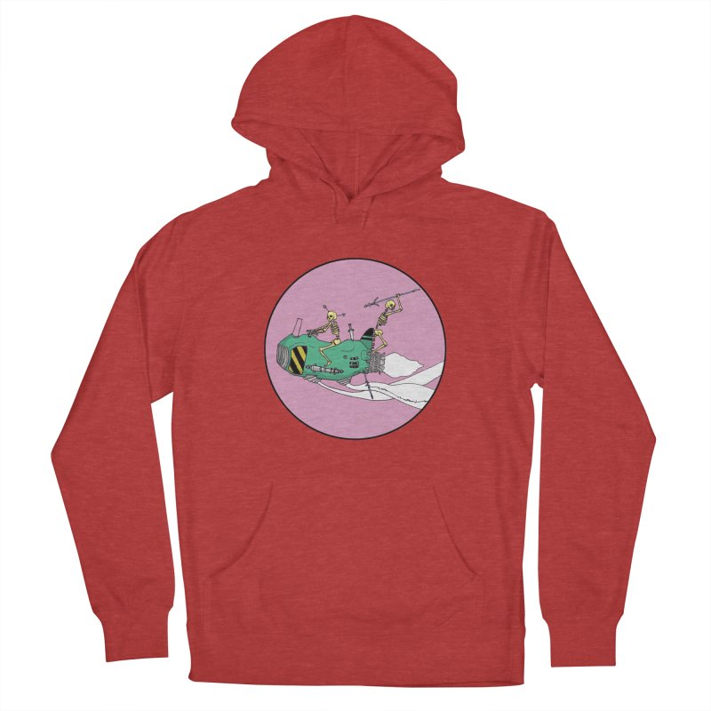 More Future Space Men's French Terry Pullover Hoody by Steven Compton's Artist Shop