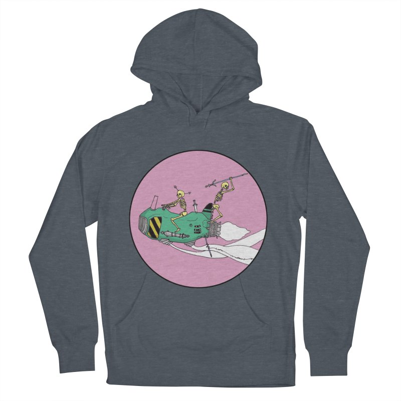 More Future Space Women's French Terry Pullover Hoody by Steven Compton's Artist Shop