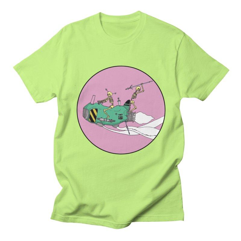 More Future Space Men's Regular T-Shirt by Steven Compton's Artist Shop