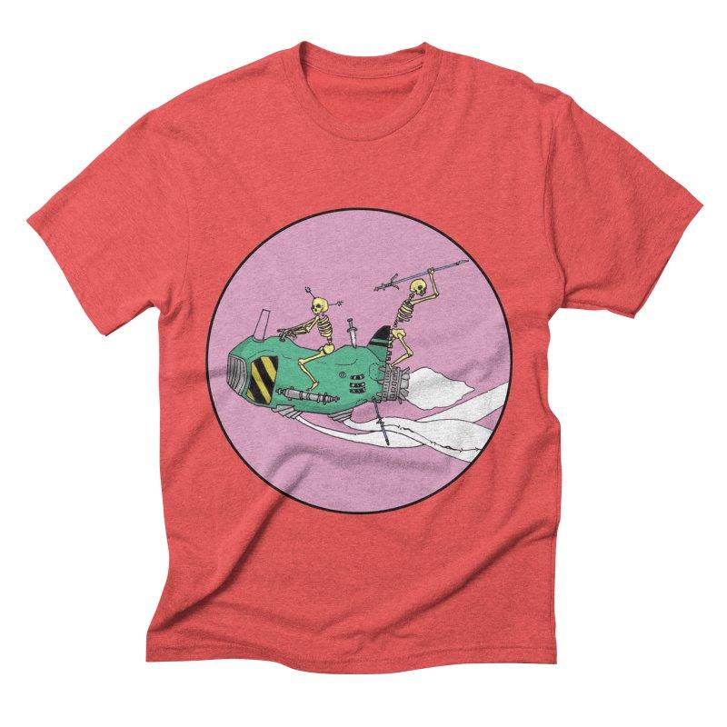 More Future Space Men's Triblend T-shirt by Steven Compton's Artist Shop