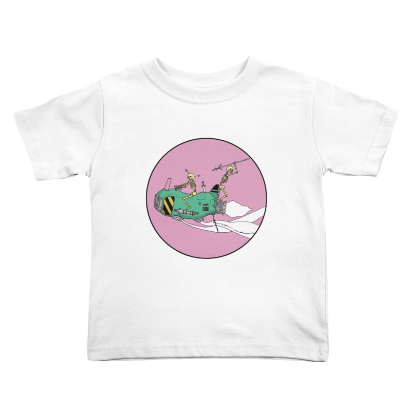 More Future Space Kids Toddler T-Shirt by Steven Compton's Artist Shop