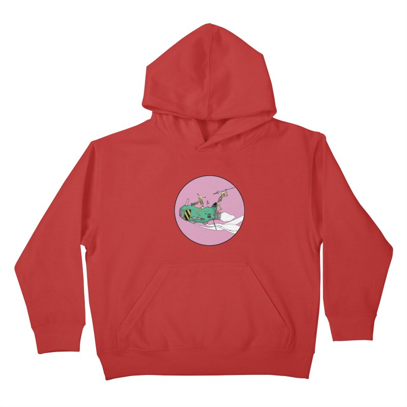 More Future Space Kids Pullover Hoody by Steven Compton's Artist Shop