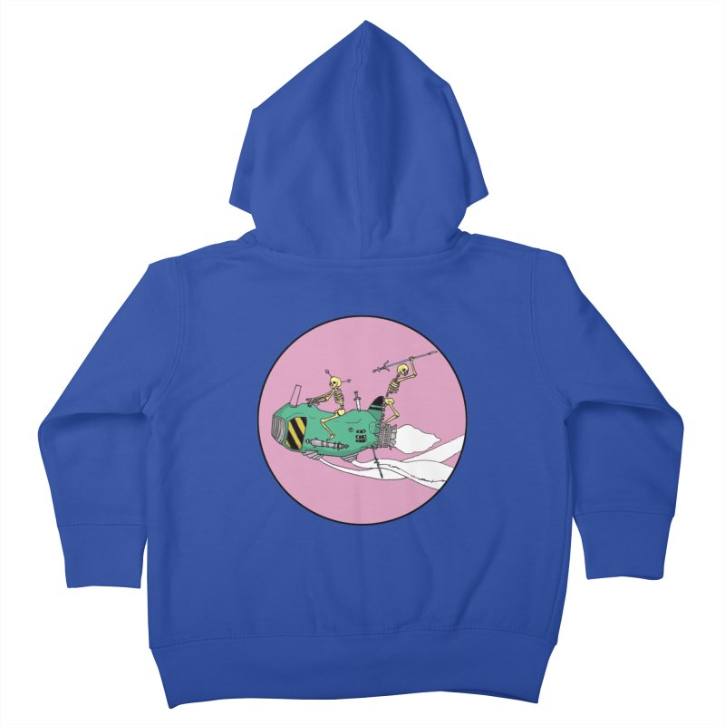 More Future Space Kids Toddler Zip-Up Hoody by Steven Compton's Artist Shop