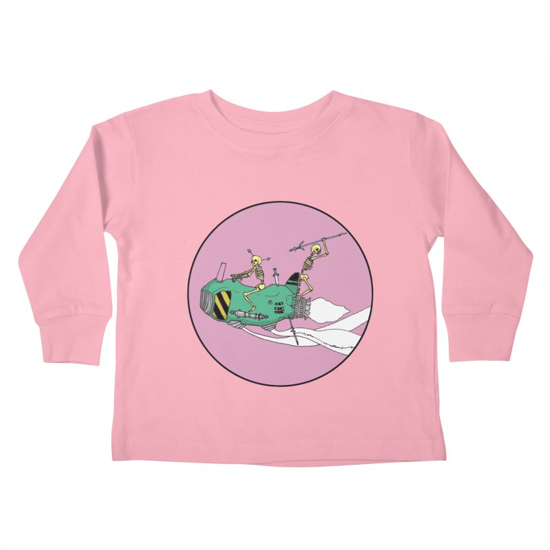 More Future Space Kids Toddler Longsleeve T-Shirt by Steven Compton's Artist Shop