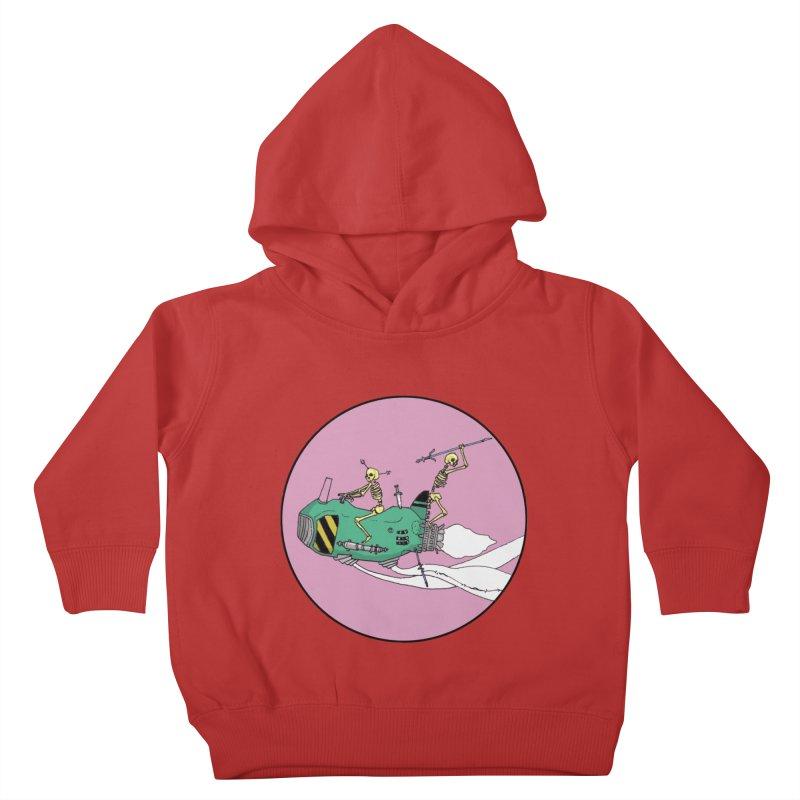 More Future Space Kids Toddler Pullover Hoody by Steven Compton's Artist Shop