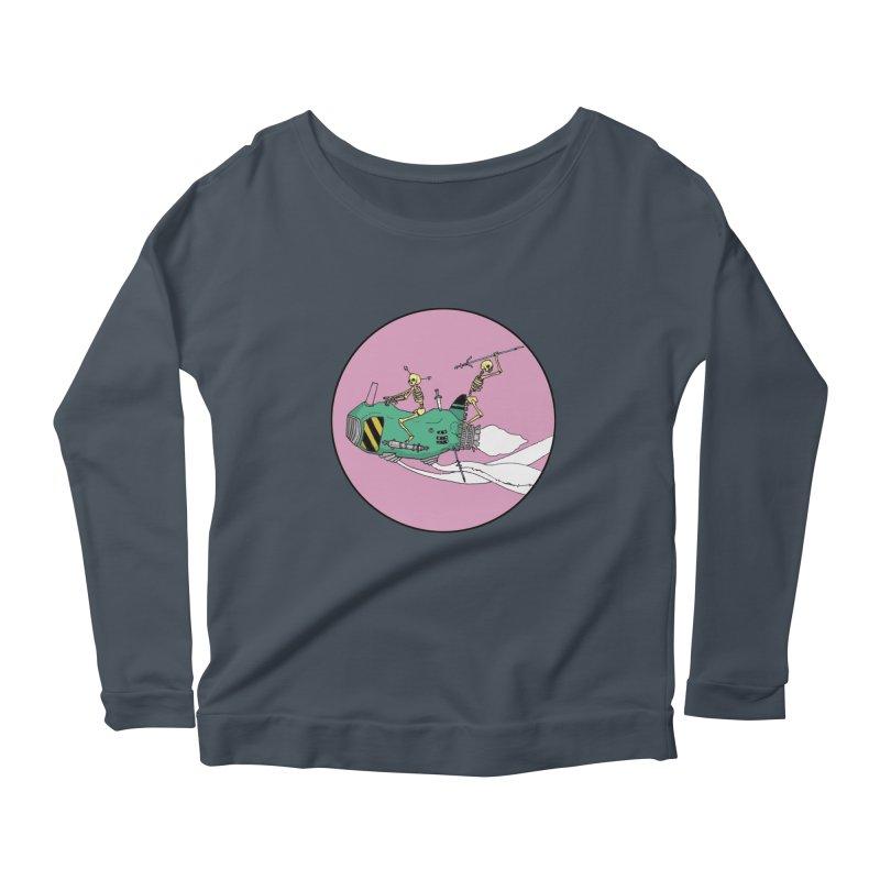 More Future Space Women's Scoop Neck Longsleeve T-Shirt by Steven Compton's Artist Shop
