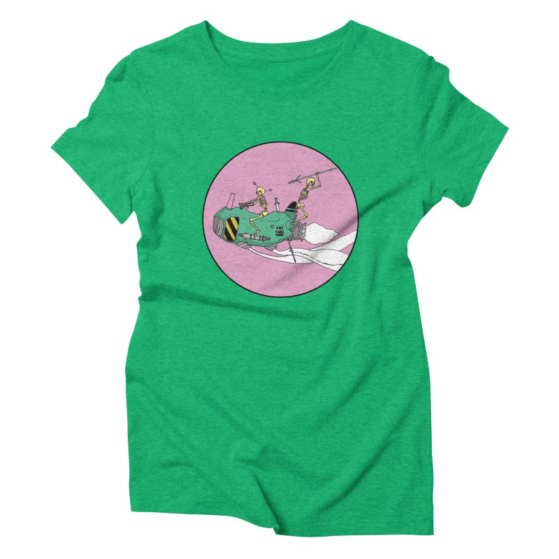 More Future Space Women's Triblend T-Shirt by Steven Compton's Artist Shop