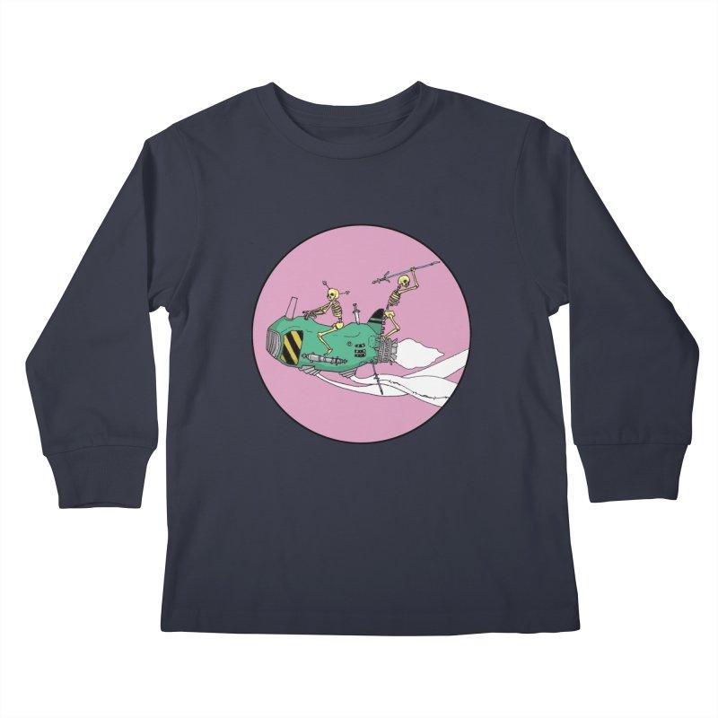 More Future Space Kids Longsleeve T-Shirt by Steven Compton's Artist Shop