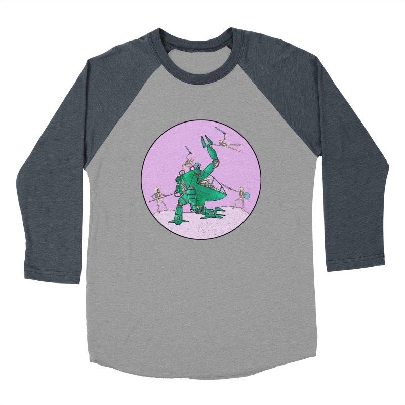 Future Space 3 Men's Baseball Triblend Longsleeve T-Shirt by Steven Compton's Artist Shop