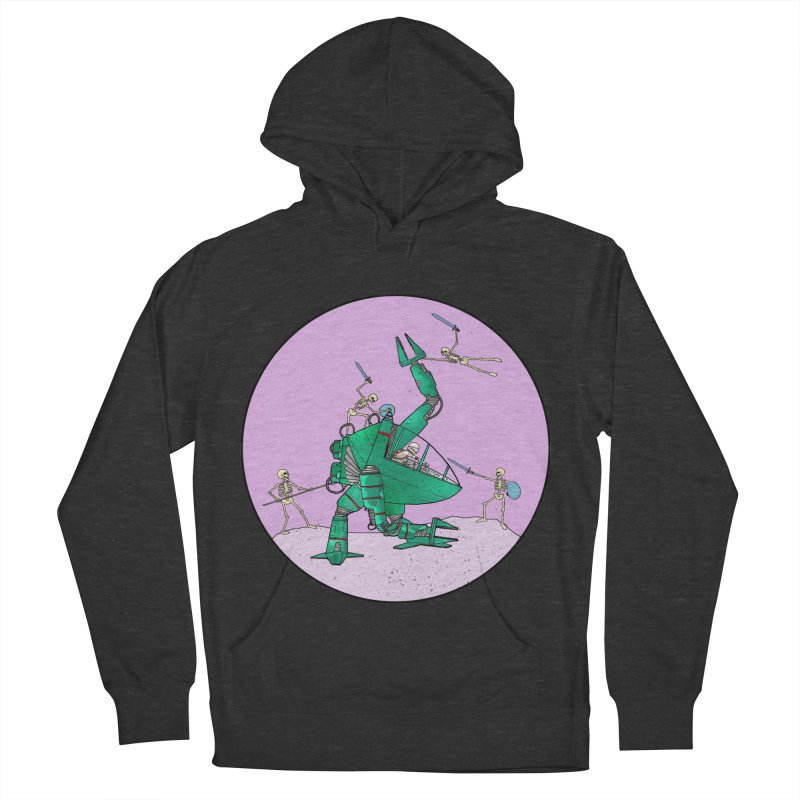 Future Space 3 Women's Pullover Hoody by Steven Compton's Artist Shop