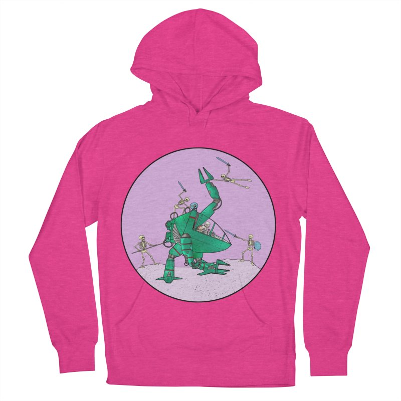 Future Space 3 Women's French Terry Pullover Hoody by Steven Compton's Artist Shop