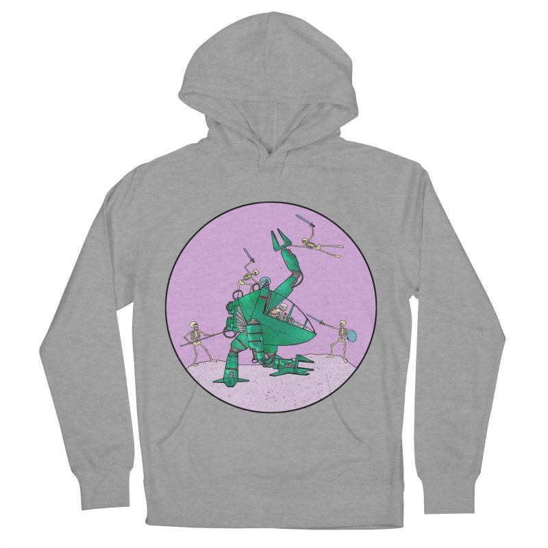Future Space 3 Men's French Terry Pullover Hoody by Steven Compton's Artist Shop