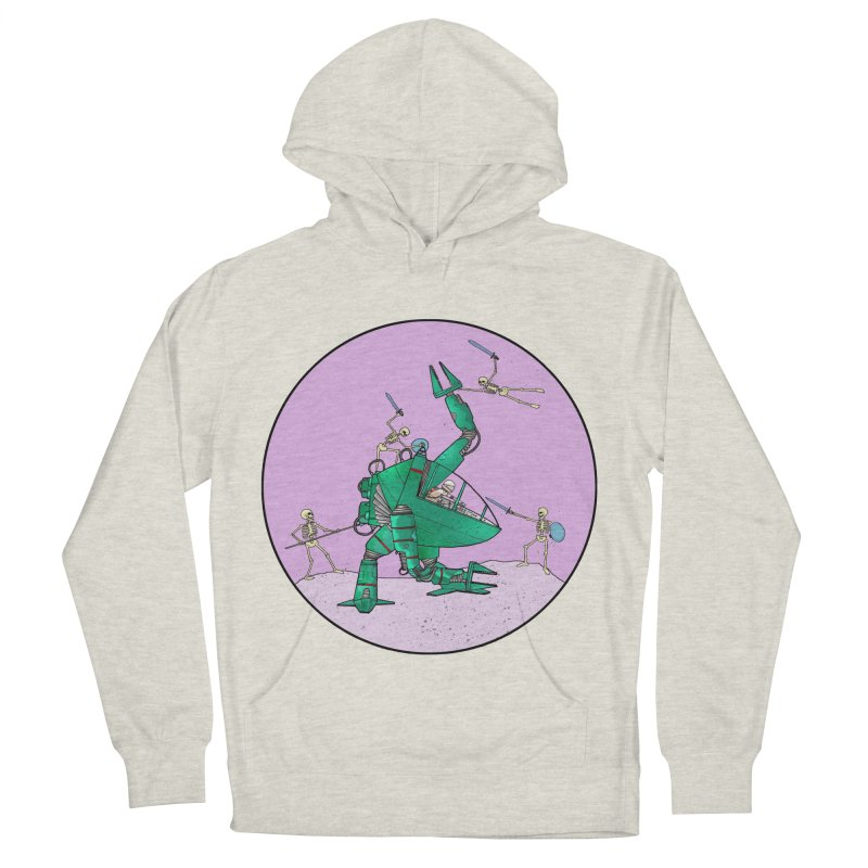 Future Space 3 Men's Pullover Hoody by Steven Compton's Artist Shop