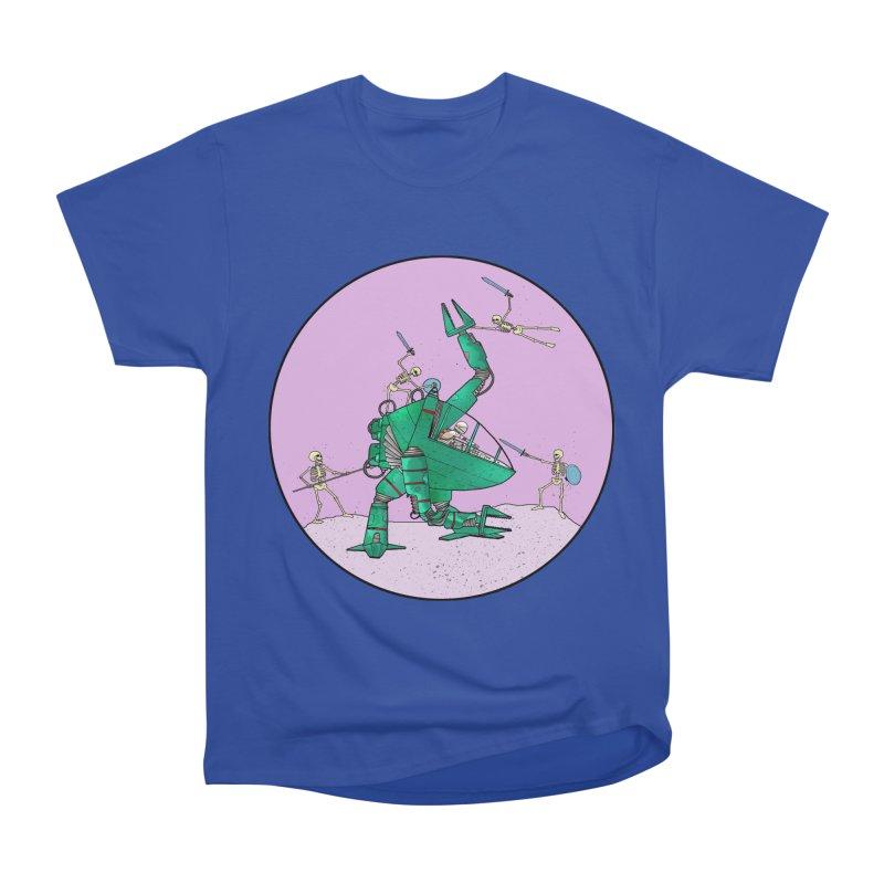 Future Space 3 Men's Heavyweight T-Shirt by Steven Compton's Artist Shop