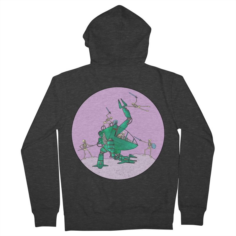 Future Space 3 Women's French Terry Zip-Up Hoody by Steven Compton's Artist Shop