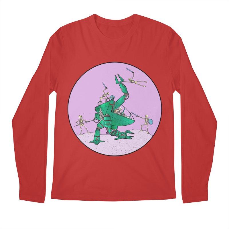 Future Space 3 Men's Regular Longsleeve T-Shirt by Steven Compton's Artist Shop