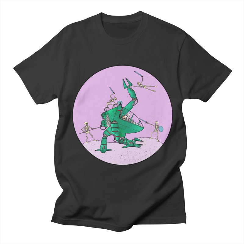 Future Space 3 Men's Regular T-Shirt by Steven Compton's Artist Shop