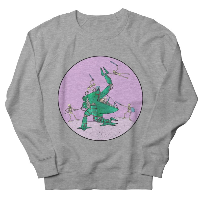 Future Space 3 Women's French Terry Sweatshirt by Steven Compton's Artist Shop