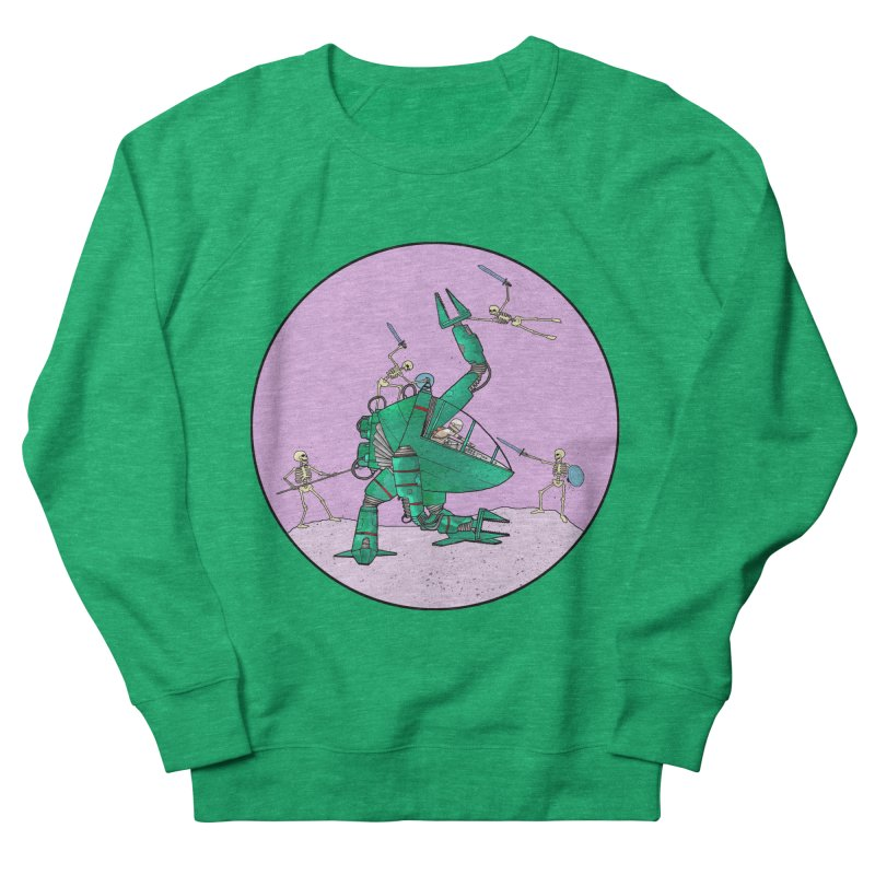Future Space 3 Men's French Terry Sweatshirt by Steven Compton's Artist Shop