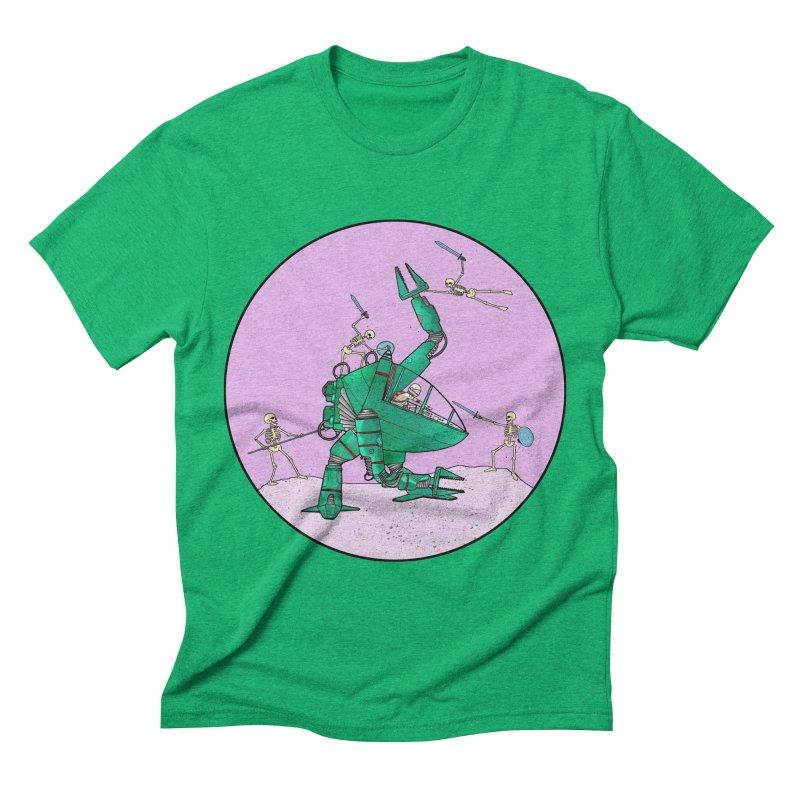 Future Space 3 Men's Triblend T-shirt by Steven Compton's Artist Shop
