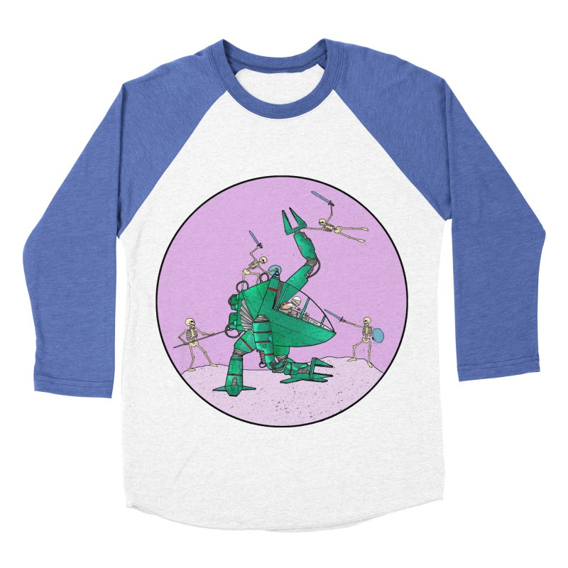 Future Space 3 Women's Baseball Triblend T-Shirt by Steven Compton's Artist Shop