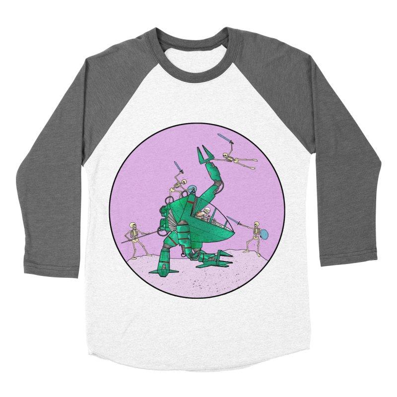 Future Space 3 Women's Baseball Triblend Longsleeve T-Shirt by Steven Compton's Artist Shop