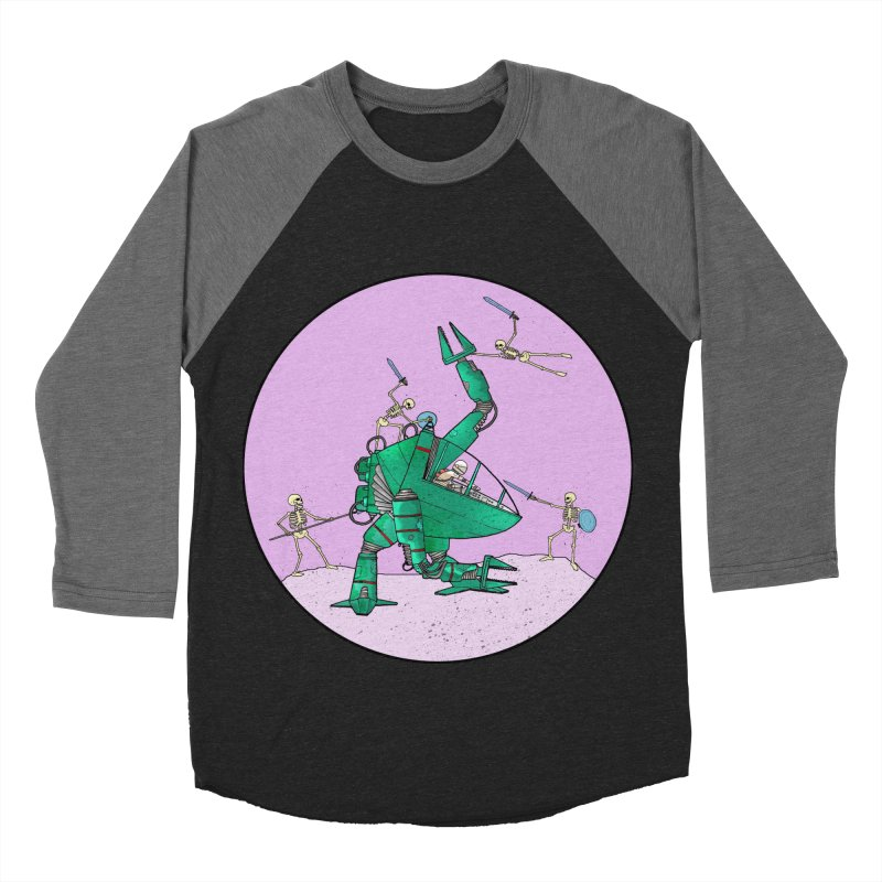 Future Space 3 Women's Baseball Triblend Longsleeve T-Shirt by Steven Compton's Artist Shop