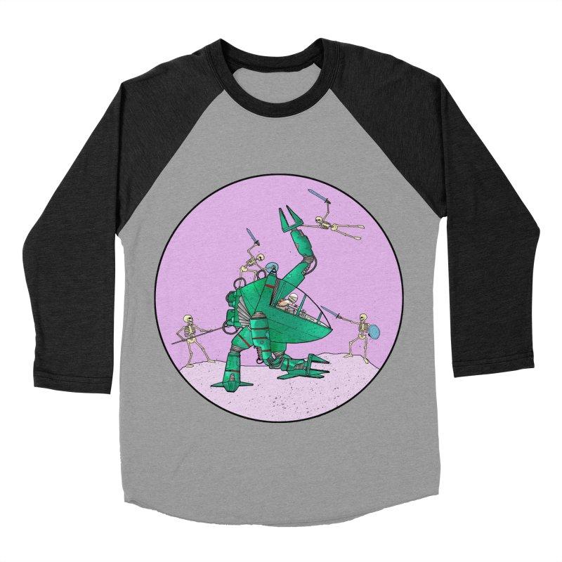 Future Space 3 Men's Baseball Triblend T-Shirt by Steven Compton's Artist Shop