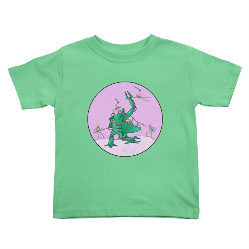 Future Space 3 Kids Toddler T-Shirt by Steven Compton's Artist Shop